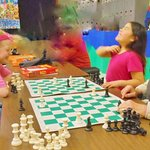 Chess with Miss Jean
