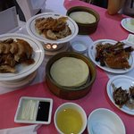 Peking Duck with pancakes and settings. View 2