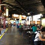 Malaysian Food Street Foto