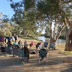 A great couple of hours around the campfire by Cooper Creek at Innamincka.