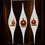 A display featuring limited edition Louis XIII Cognac.