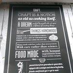 Photo de Craft Restaurant