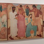 art moderne Israélien : triptyque de R.Rubin