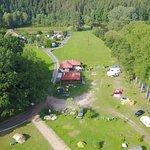 Letecký pohled na Camping Paradijs