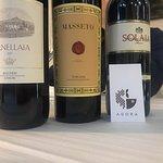 Grandi vini. Masseto , Solaia, Ornellaia
