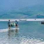 """Lang co lagoon - Da Nang Car Rental - Danang private car"""