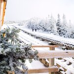 Foto van The Mount Washington Cog Railway