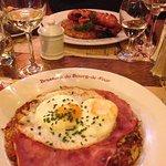 Cafe du Bourg de Four Foto