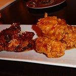 Chicken wings appetizers