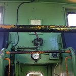 A view inside our real DRGW caboose in our parking lot.