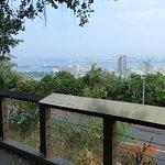 ここから高雄港を見ました