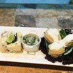 Locos en Salsa verde (Restaurante Manada)