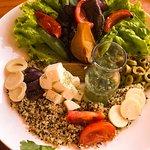 Ensalada de Quinoa (Restaurante Manada