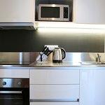 Kitchen in Loft Aparments