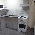 Kitchen area of Standard apartment