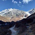 Path less traveled: route to Langtang Glacier near Langtang Liru 1.