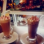 Christmas Coffees, lovely :)