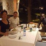 we ate together at the Ngala lodge :-)