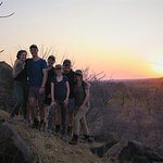 Walking Safari, Sunset, Greater Kruger National Park, South Africa
