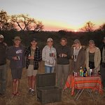 Sundowners, Greater Kruger National Park, South Africa