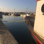 Fishing boats in Marina di Ravenna.