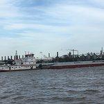 River barges
