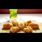 Baklawa pasteles de hojaldre con frutos secos