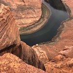 Foto van Horseshoe Bend