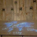 Bild från Minnesmärket för 11 september-attackerna
