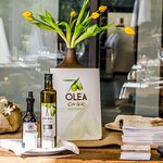 Olea menu, and olive oil made for Can Lluc