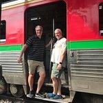 jump on train see you in Bangkok