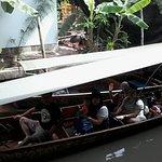 นั่งเรือ ชม ตลาดน้ำ ดำเนินสะดวก ครับ