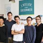 La dream Team de l'Atelier Saisonnier 2018 vous accueil tous les jours de la semaine du Lundi au Dimanche inclus