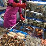 Bilde fra Noryangjin Fish Market
