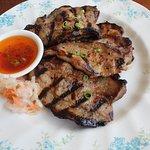 Tiempo Grilled pork belly
