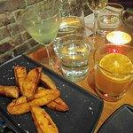 Sweet potatoes & sea salt. Perfect!