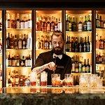 High end spirits bar on Hobart's waterfront