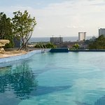 Swimming pool of 360 Resort with fantastic view.