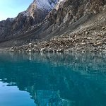 Attabad lake with  Crossroads Adventure