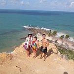 Vista da praia de coqueirinho- litoral sul de João Pessoa.