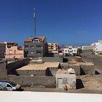 Utsikten från terrasserna, in mot Santa Maria