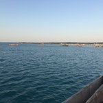 Beautiful view of around stone town with sunset cruise