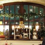 décoration intérieur du restaurant Noël