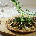 Black Truffle Mushroom Pizza