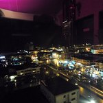 Night view from Roof Garden Lounge