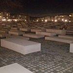Bild från Förintelsemonumentet (Monument över Europas mördade judar)
