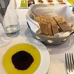 Fotografia de Carpaccio Pasta Pizza Vino