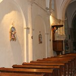 L'intérieur de cette église