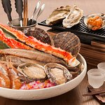 Seafood BBQ set for 2 persons