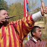 Tour flavor of Bhutan.The Bhutanese national game